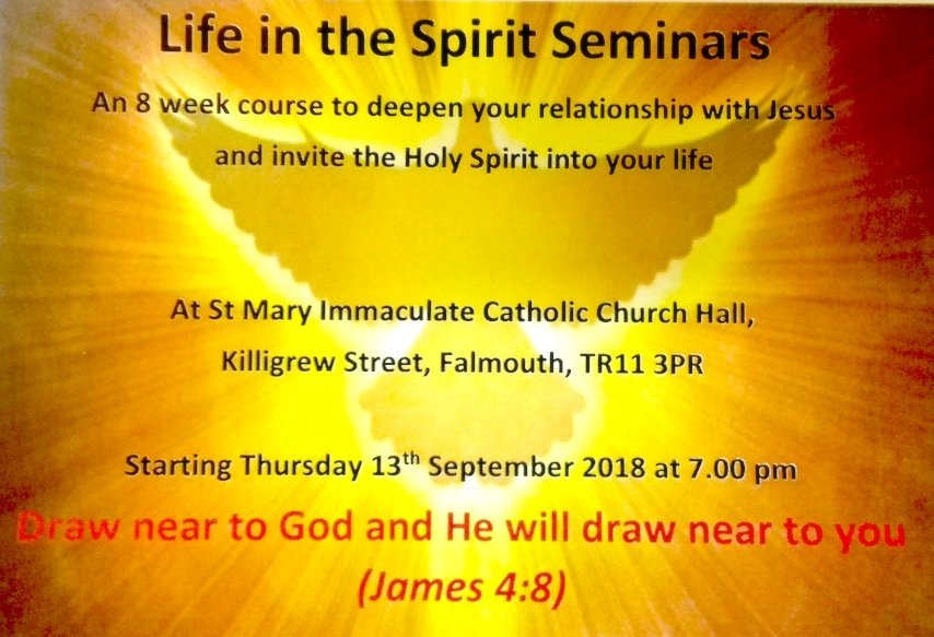 Life in the Spirit Seminars 2018